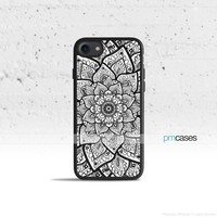 Mandala Flower Phone Case Cover for Apple iPhone iPod Samsung Galaxy S & Note
