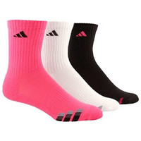 adidas Boys Cushion Crew Socks (3-Pack))