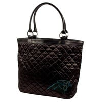 Carolina Panthers NFL Sport Noir Quilted Tote