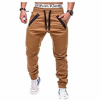 Men joggers 2018 New Fashion Brand Joggers Pants Male Trousers Casual Mens Joggers Solid Pants Sweatpants XXXL