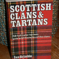 1973 Scottish Clans and Tartans paperback