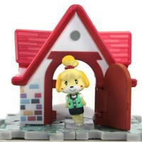 Animal Crossing New Leaf Jump Out House & Furniture Figure Collection - Isabelle & House