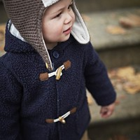 Mini Boden Duffle Coat & Lined Pants (Baby) | Nordstrom