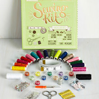 Handmade & DIY Sew Much For the Afterglow Sewing Kit by ModCloth