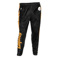 Pittsburgh Steelers Forever Collectibles KLEW Tapered Zip Joggers Sizes M-2XL