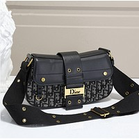 Dior fashion hot selling women's one-shoulder bag shopping bag