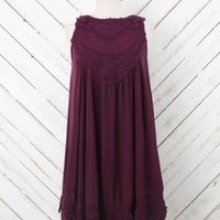 Altar'd State Midnight Memories Dress in Grapewine | Altar'd State