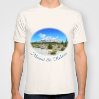 Mount St. Helens. National Park near Seattle, U.S.A. T-shirt by NatureMatters