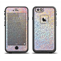 The Colorful Confetti Glitter Sparkle Apple iPhone 6 LifeProof Fre Case Skin Set