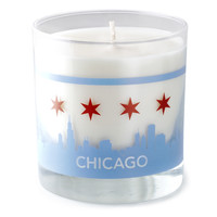 Chicago Skyline Candle