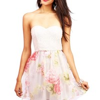 Whimsical Garden Dress   Dresses at Pink Ice