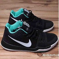 Nike Kyrie 3 EP Men Trending Casual Running Sports Sneakers Shoes Dark Blue G-A36H-MY