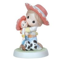 Precious Moments Disney Show Case Collection Collectible Figurine, Yodel-Ay-Hee-Ho I Sure Like You