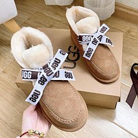 UGG Fashionable Hot Sellers Casual Ladies Wool Boots Shoes