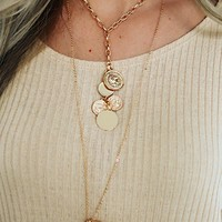 Wishing Well Necklace: Gold