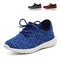 Kids Moccasins 2016 Fashion Breathable Yeezy Kids Shoes Boys Comfortable Casual Sport
