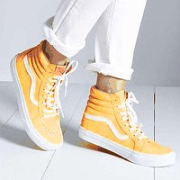 Vans Popular Women Men Casual Canvas Old School Flats Sneakers Sport Shoes Yellow
