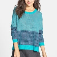 Love By Design Colorblock Pullover (Juniors) | Nordstrom