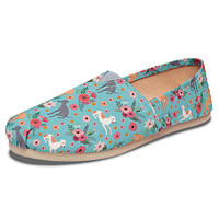 Greyhound Flower Casual Shoes