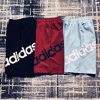 Adidas Originals Summer Popular Women Men Classic Loose Print Sport Shorts I13200-1