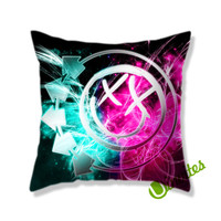 Blink 182 Square Pillow Cover