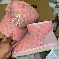 UGG x GG 2020 branded short boots Shoes