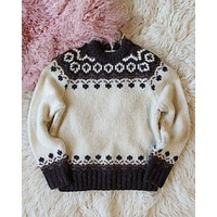 Vintage Tundra Knit Sweater