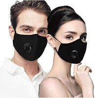 Reusable Cotton Face Mask PM 2.5 Dust Respirator Anti Haze Mask + 2pcs Mask Filters Respirator Mouth-muffle FAST FREE SHIPPING