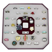 Engagement Rings VK-054-SIZE8 Assorted Brass Ring