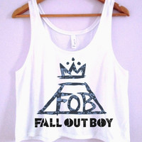 Fall Out Boy Crop-Top
