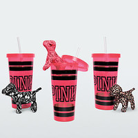 Micro Mini Dog with Tumbler - PINK - Victoria's Secret