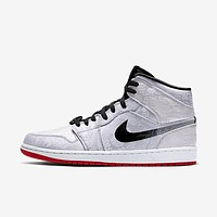 Nike Air Jordan 1 Mid Fearless Edison Chen Sneakers Shoes