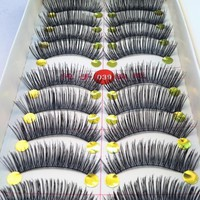 40Pair Thick Long False Eyelashes Eye Lashes Extension Tools Makeup Eyelashes Fake False Lashes Nature Eyelash Cosmetic Tips
