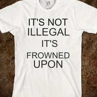 It's not illegal ,it's frowned upon - The Kay Designs