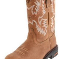 Ariat Women's Tracey Pull-On Boot,Dusted Brown,11 B US