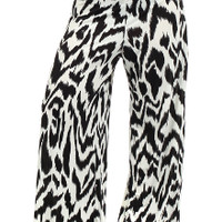 animal womens plus size palazzo pants
