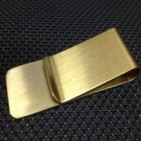 Gold Traditional Money Clip