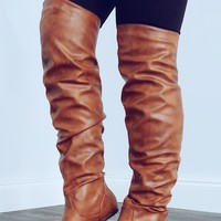 Fall Behind Boots: Camel
