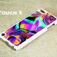 Art Abstract Color Mix iPod Touch 5 Hard Case