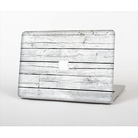 The White Wood Planks Skin Set for the Apple MacBook Pro 15""