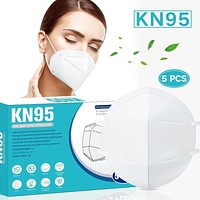 KN95 Anti-fog Anti-flu Foldable Face Mask With High-quality Elastic Earband