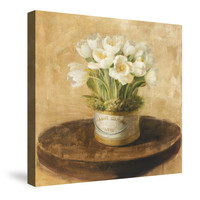 Hatbox Tulips Canvas Wall Art