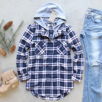 The Portland Plaid Hoodie