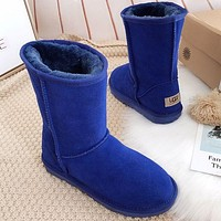 UGG Woman Men Fashion Wool Snow Boots Shoes