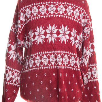 Red Ugly Christmas Pullover 45895 - The Sweater Store