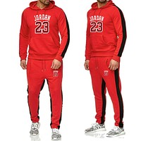Men Tracksuit 2 Piece Tops And Pants Mens Sweat Suits Set Letter Print Plus Size Jogger Sets For Men Clothing