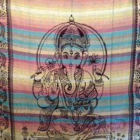 Ganesh Tapestry Stripes