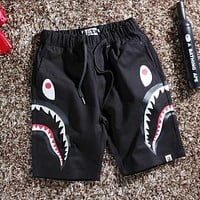 BAPE Fashion Casual  Simple Shorts