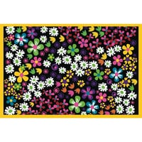 Fun Rugs Fun Time Collection Floral Area Rug