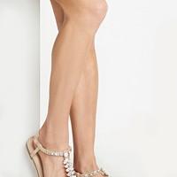 Faux Gem Embellished Sandals | Forever 21 - 2000169974